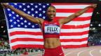 Allyson Felix Takes Olympic Gold in 200 Meter Sprint