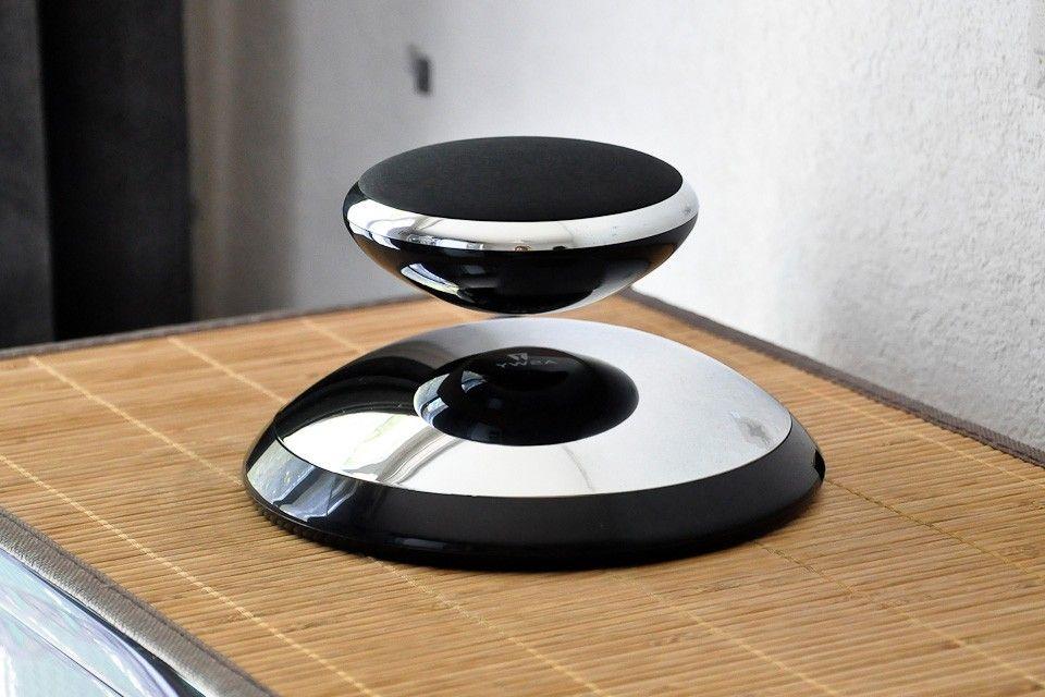 Enceinte design anti gravité sound air noire