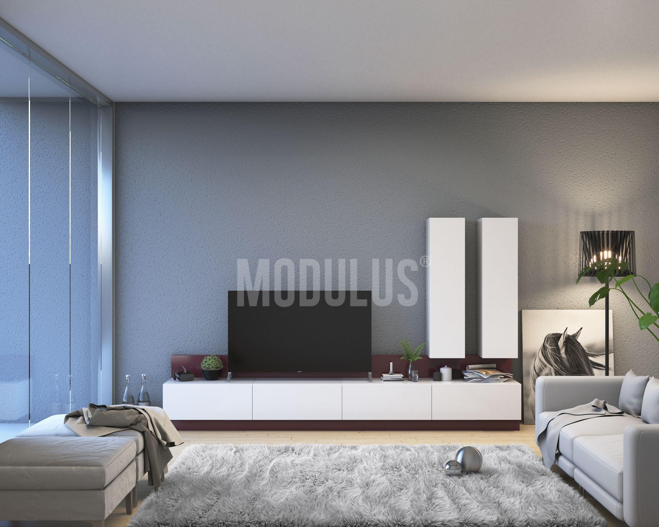 Sistema Mural 60 Livingroom Muebles Minimal Contemporary  # Muebles Murales