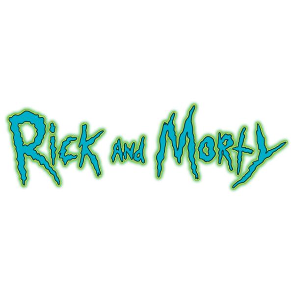 Rick Morty Logo Rick And Morty Stickers Rick And Morty Drawing Rick And Morty Poster