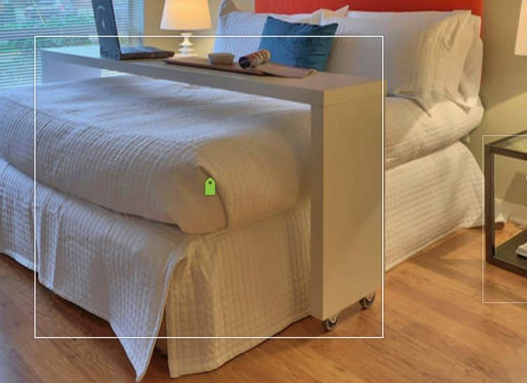 Over Queen Bed Rolling Table, U0026 Guest Counter. Example Only, These Are  Custom