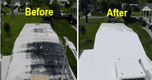 Vintage Moblie Home Roof Paint Sealer