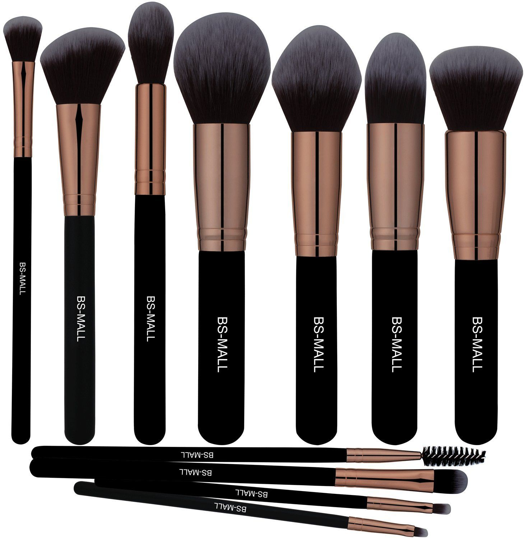 Bs Mall Tm Premium Synthetic Kabuki Makeup Brush Set Cosmetics Foundation Blending Blush Eyeliner Face Makeup Brush Kit Makeup Brush Set Kabuki Makeup Brushes