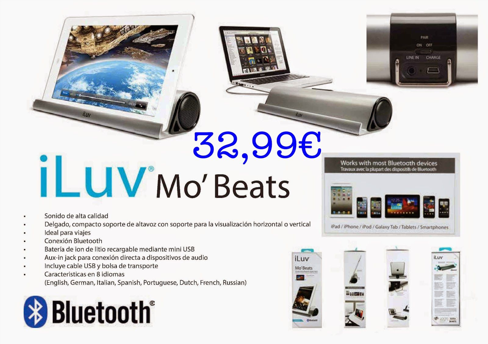 Games24: iLuv Mo' Beats, Receptor Wifi, Bateria Yoobao, Mas...