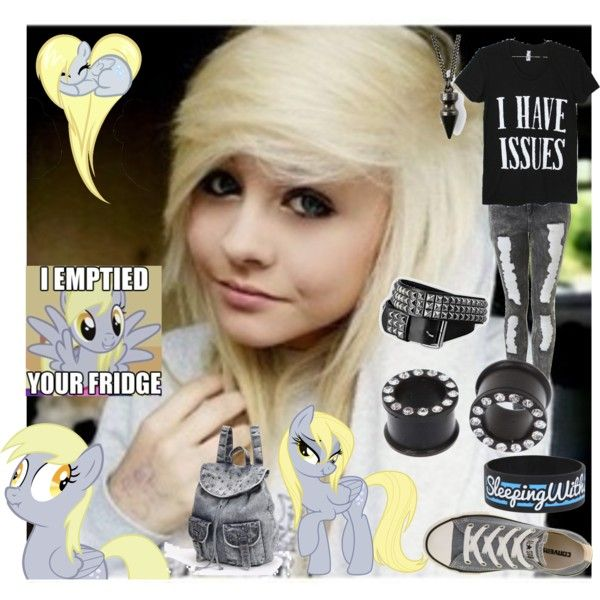 """""""Derpy Hooves"""" by morganamerica on Polyvore"""