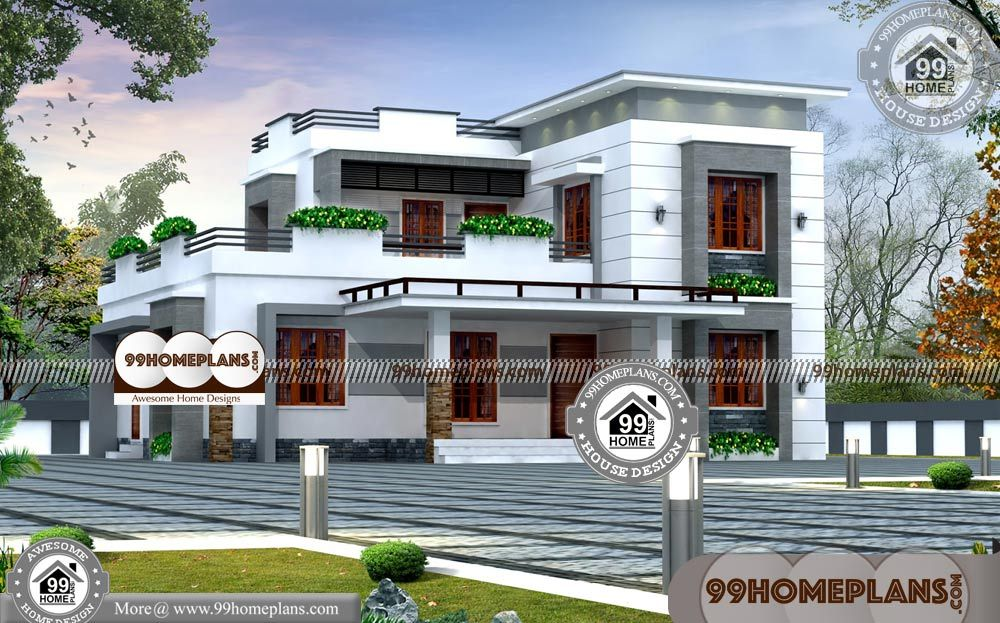 Small Luxury House Plans With Photos With Floor Plans For Small Two Story Houses Having 2 Floo House Plans With Photos Luxury House Plans Luxury Homes Exterior
