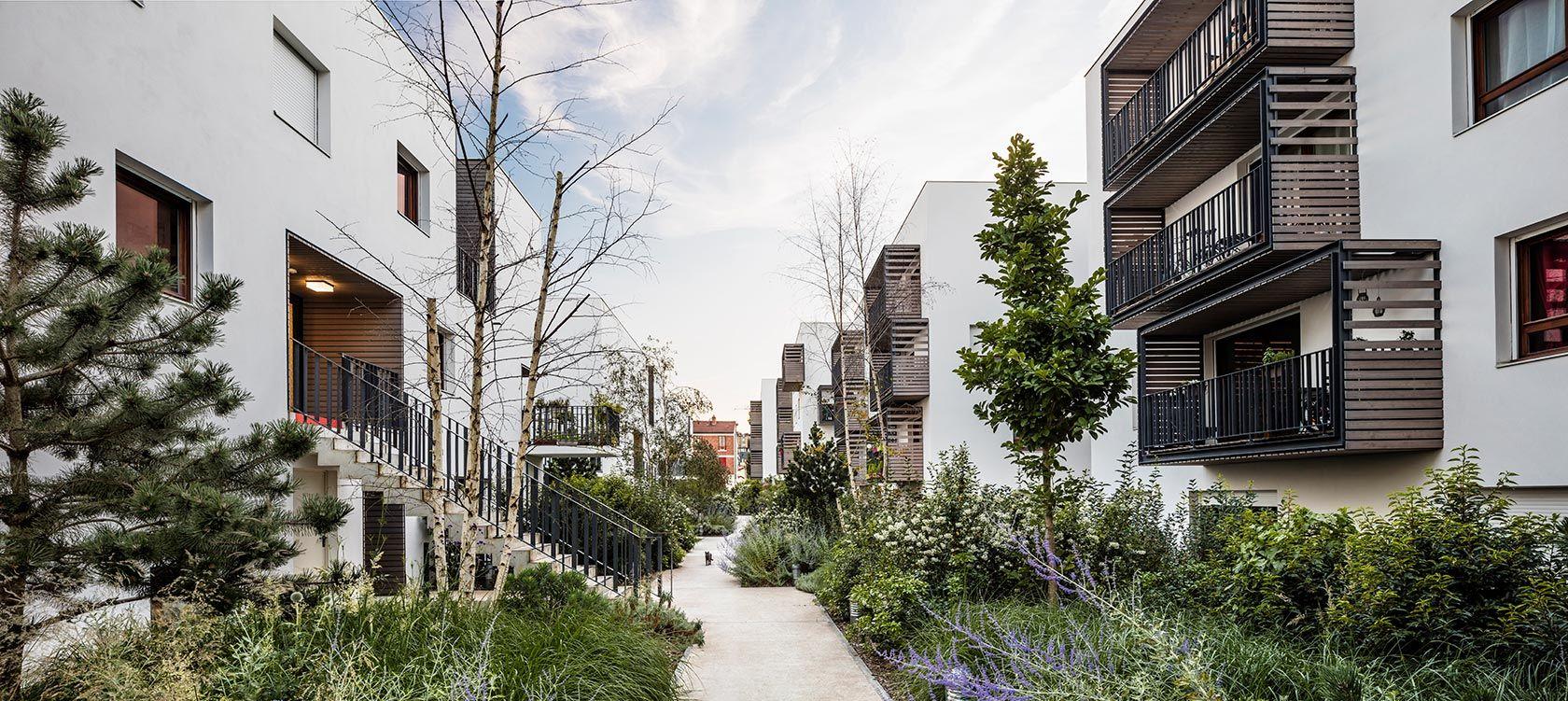 eco quartier carnot verollot ivry sur seine archikubik ref paysage pinterest urban design. Black Bedroom Furniture Sets. Home Design Ideas