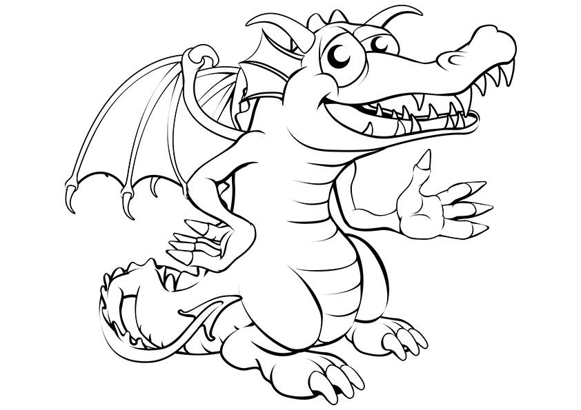 15+ Dragon coloring pages cute ideas in 2021
