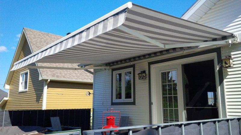Auvent Retractable Patio Outdoor Decor House