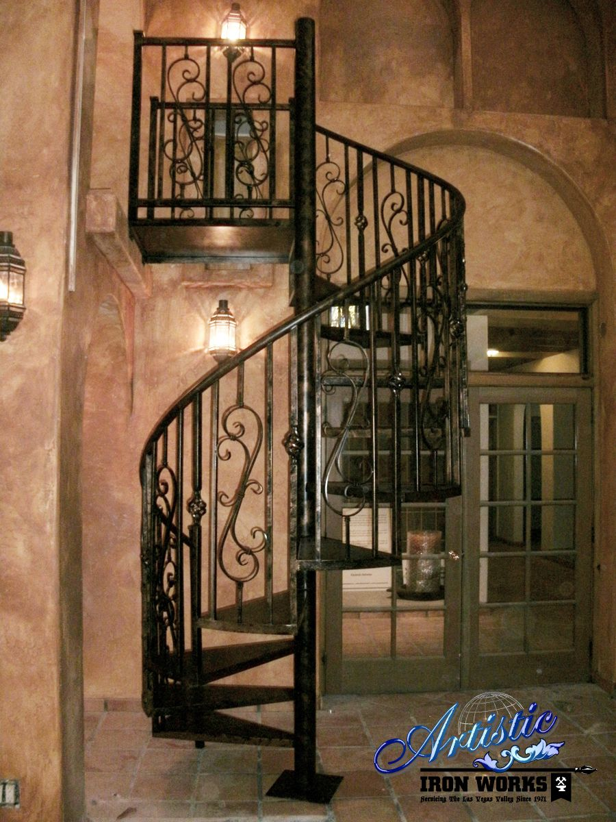 Best Wrought Iron Spiral Stairs Spiral Stairs Stairs Iron 400 x 300