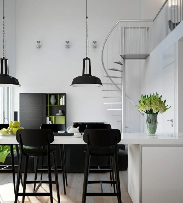 Leitern aus Holz, Aluminium, Glas 101 Ideen | Haus