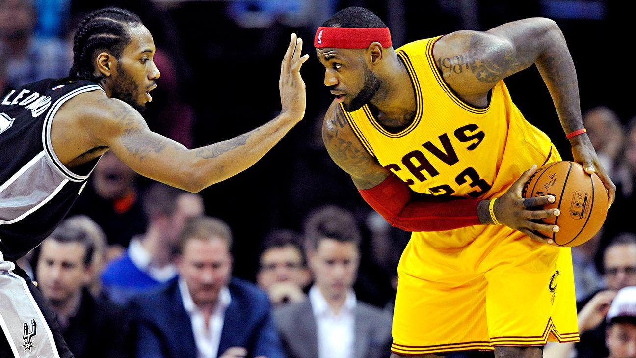 Spurs' home streak gets big test against LeBron and Cavs