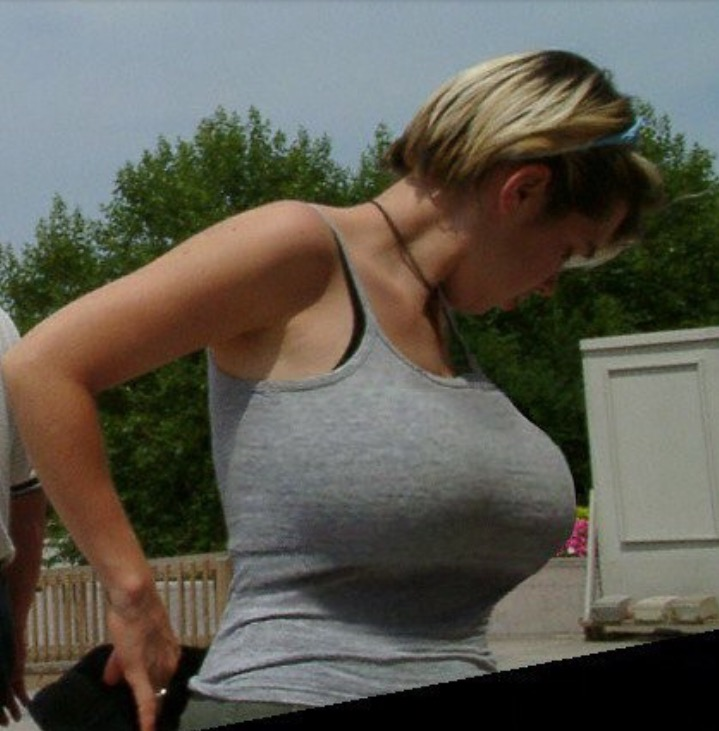 huge boobs on regular women