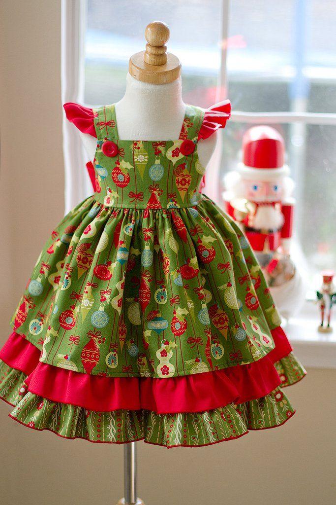 christmas girls mistletoe dress  1218mos  girls