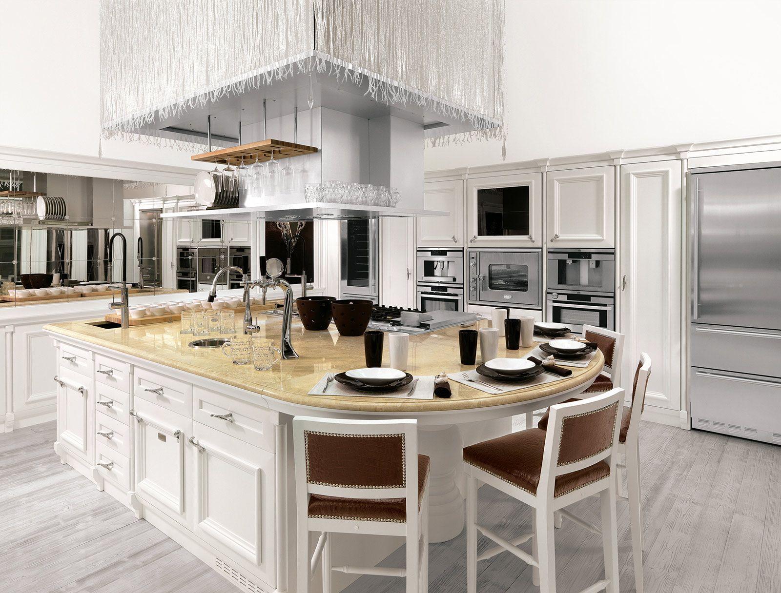 La nuova cucina country è new classic   Traditional kitchen ...