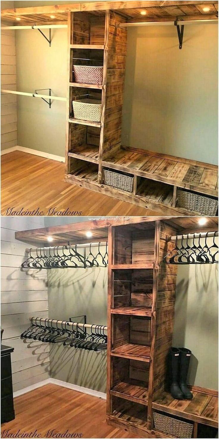 Trendy wooden pallet projects for your home, wood palette