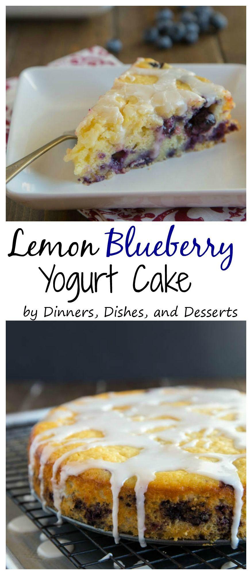 Lemon Blueberry Yogurt Cake A Super Moist Lemon Yogurt Cake