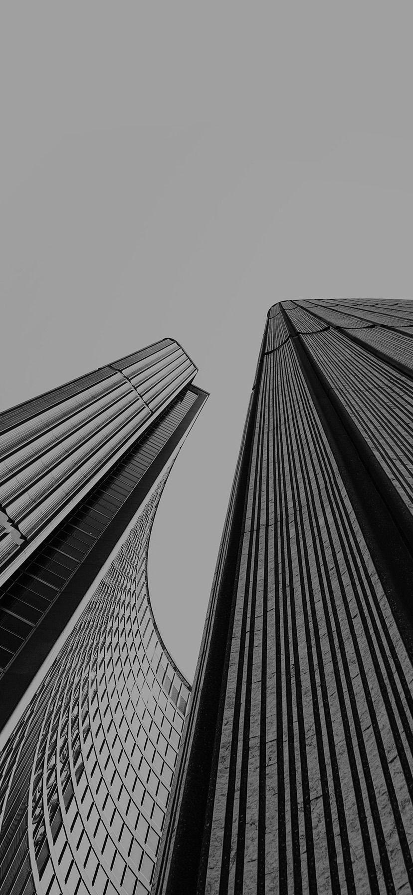 Iphone Xr Wallpaper Architecture Building City Art Dark Bw Black