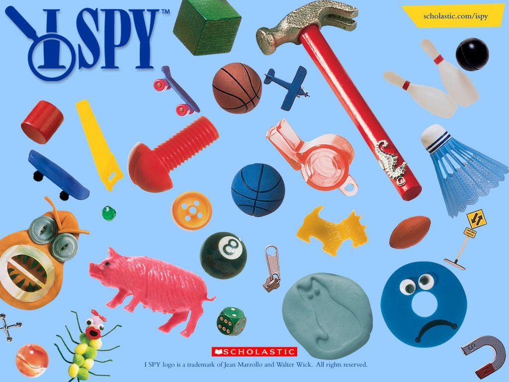 I Spy Is A Way To Get Students To Focus Their Attention They Can Choose Objects That Others