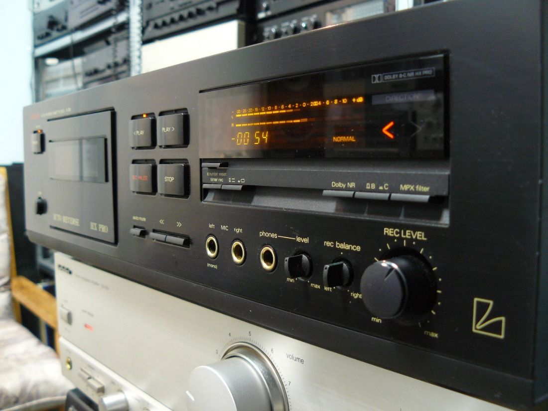 Luxman K 351 Cassette Player Photo1184098 Cassette Player Cassette Hifi