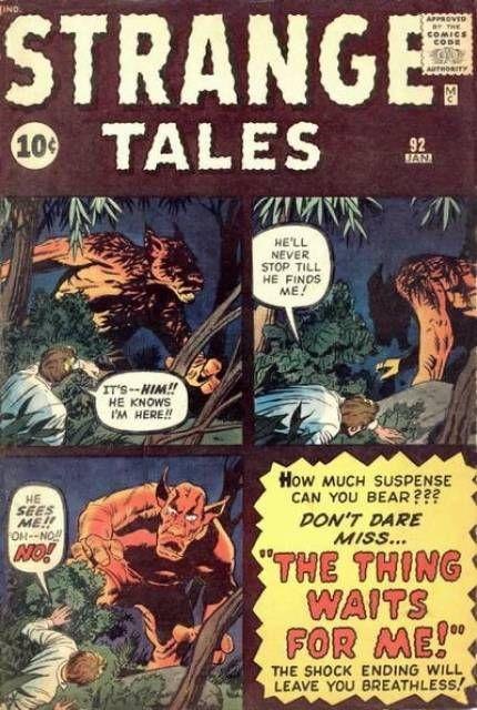 Stranger Tales #92 (Jan 1962)