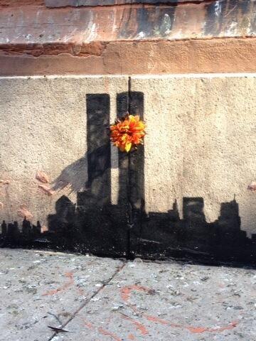 Banksy #NYC #WeLoveThisCity