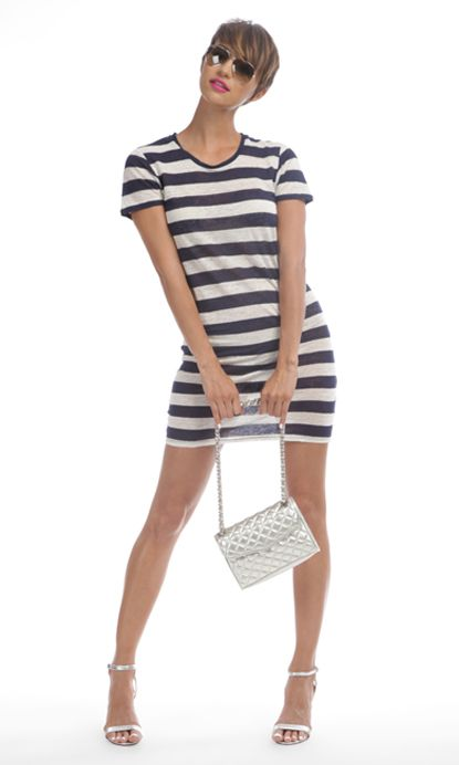 zappos ensemble stripes  metallic  clothes clothes