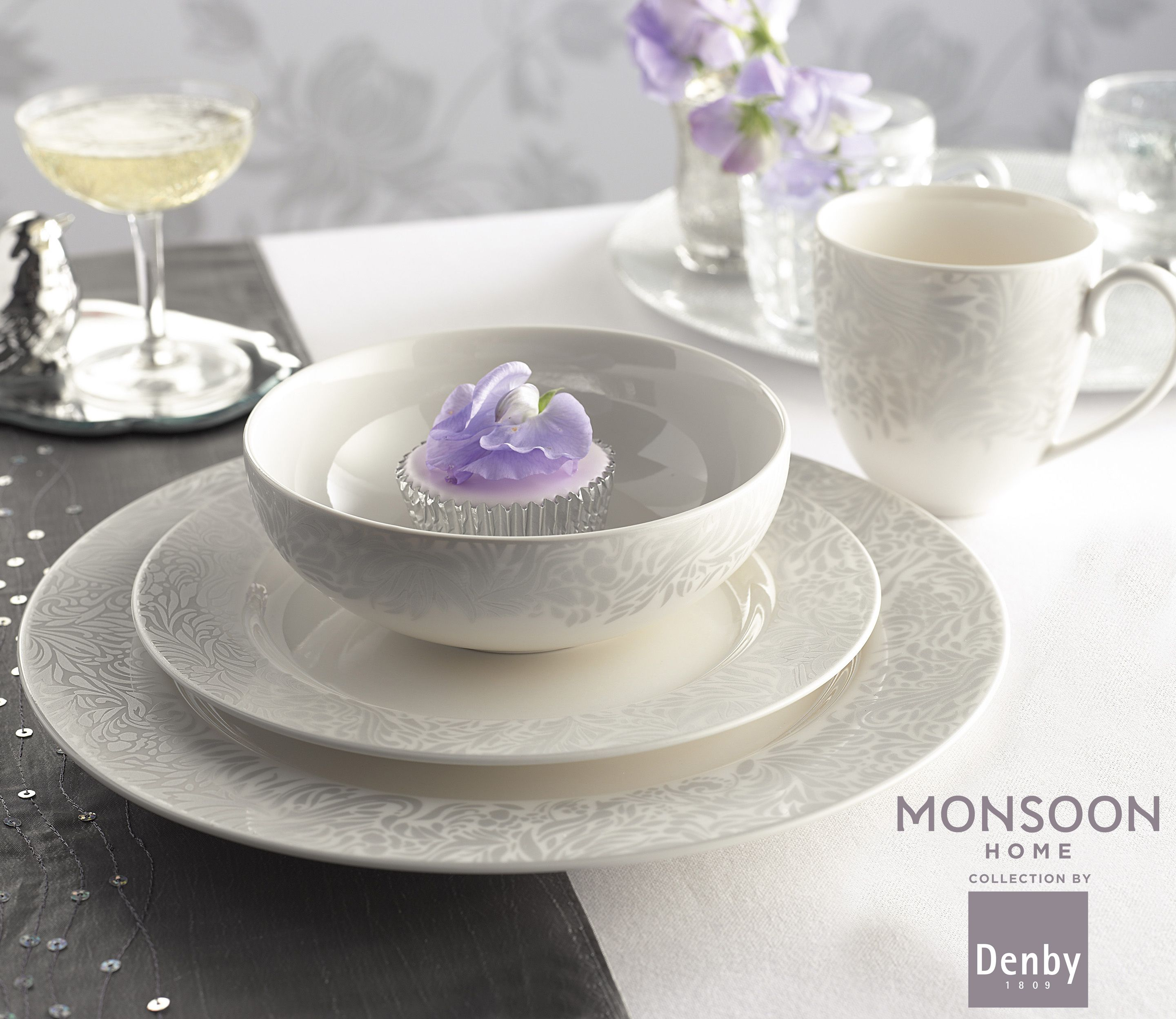 Monsoon Lucille Silver by Denby & Monsoon Lucille Silver by Denby | Make a Home | Pinterest | John ...