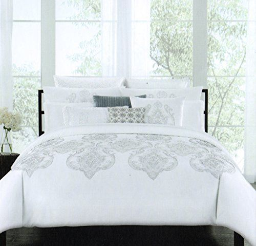 tahari home marossy embroidered damask medallions 3pc ful http