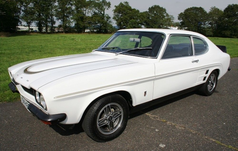 Lot 9 1974 Ford Capri Rs3100 Coupe Ford Capri Ford Car Ford