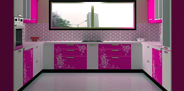 Lovely C Shaped Modular Kitchen Designed By Design Indian Kitchen Visit Http://www Part 30