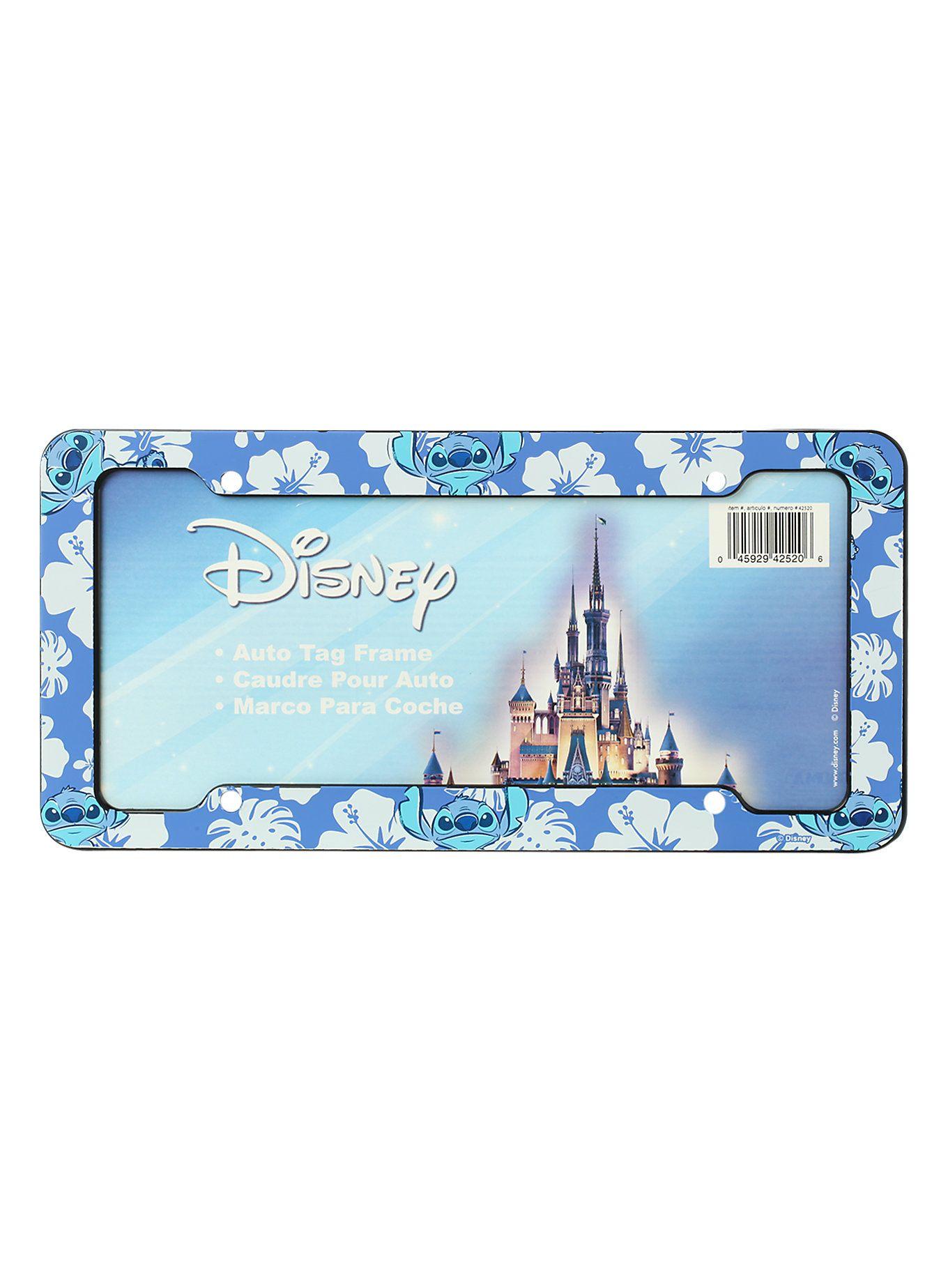 disney lilo stitch license plate frame - Mermaid License Plate Frame