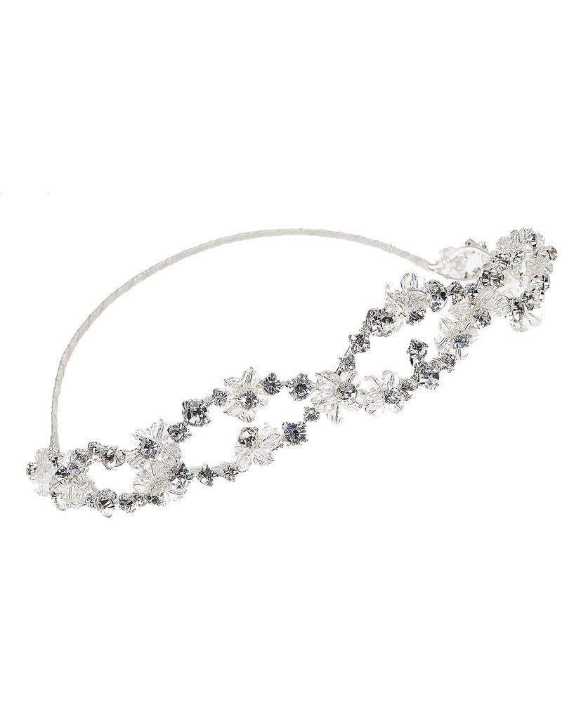 Odessa Halo   Kirsten Kuehn    handmade crystal bridal sashes & embellished accessories