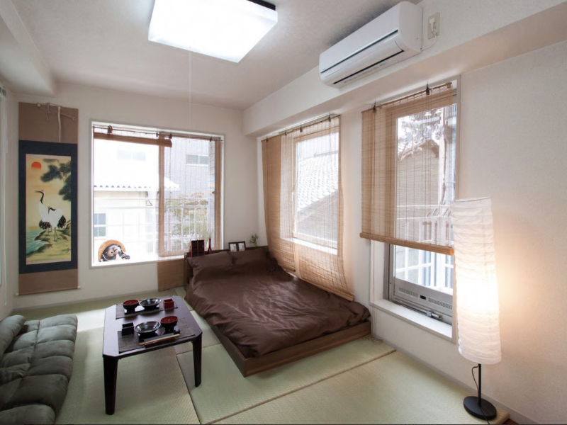 Kyoto NW 1 Bedroom Japanese Style Apartment near Nijo Castle Japan ...