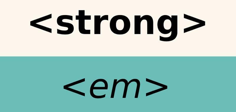 El texto en un sitio Web - Estructura lógica frente a formato físico