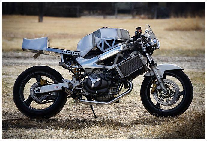 1998 Honda VTR 1000F -'Christine' - Pipeburn - Purveyors of Classic Motorcycles, Cafe Racers & Custom motorbikes