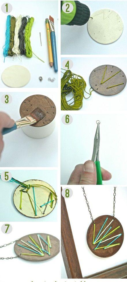 Comment faire, créer, fabriquer ses bijoux en bois ? Waldorf