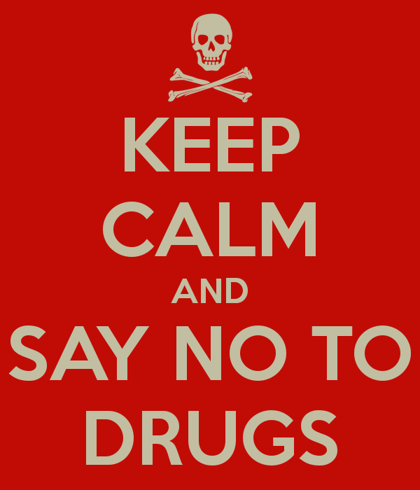 c37b671ee2ba KEEP CALM AND SAY NO TO DRUGS | Halloween | Pinterest | Arsenal and ...
