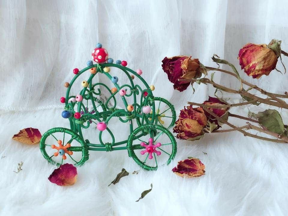 Wire Carriage | Beading | Pinterest | Beads