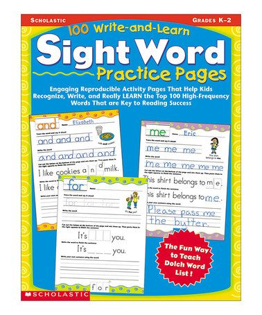 Another great find on #zulily! Write & Learn Sight Word Practice Workbook #zulilyfinds