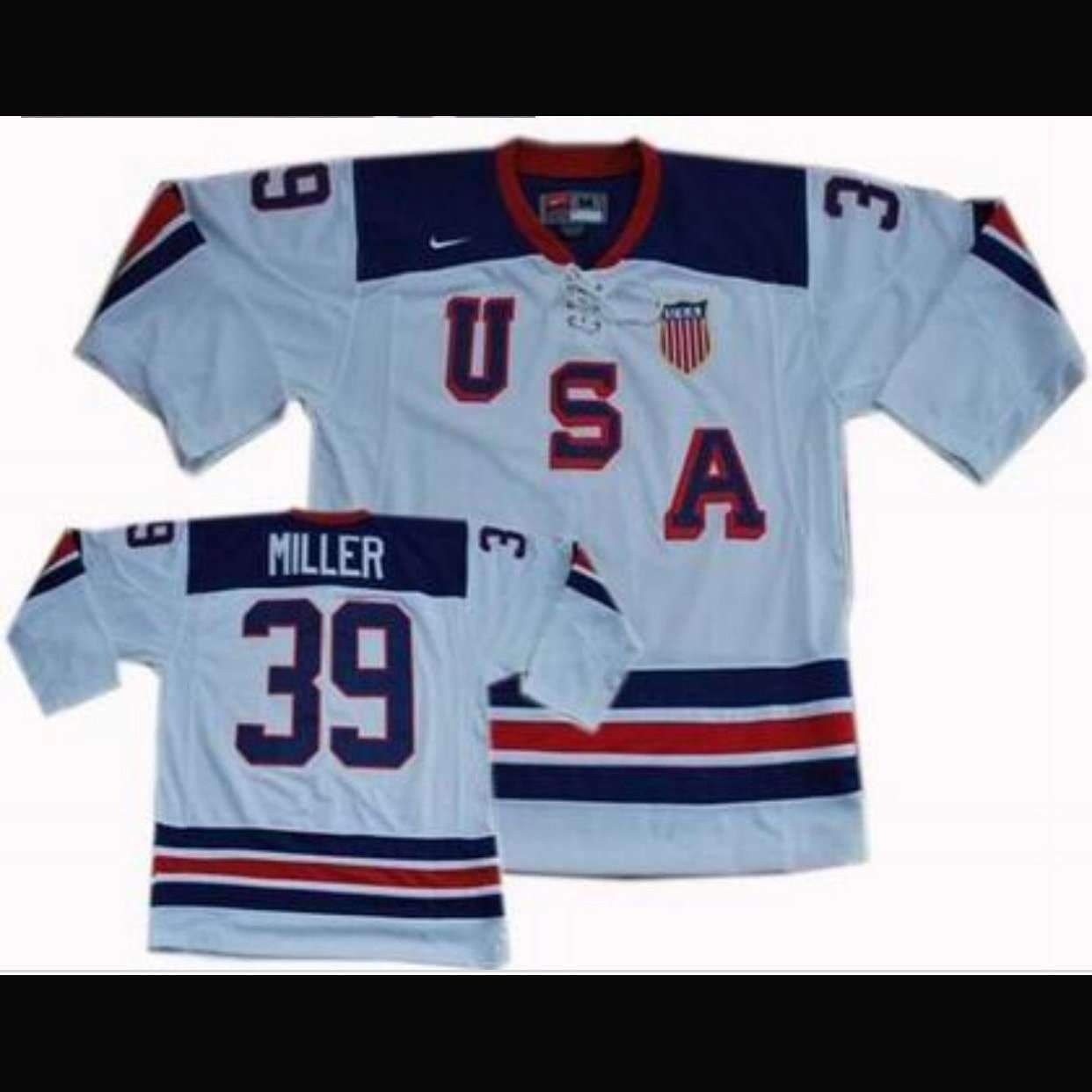 Vancouver Olympics Team Usa Hockey Jersey Patrick