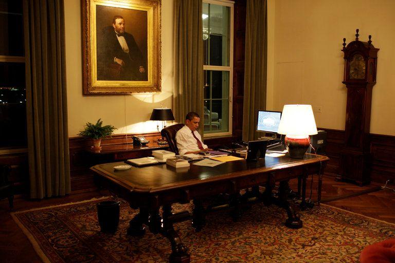 Obama After Dark The Precious Hours Alone Room Home Decor House