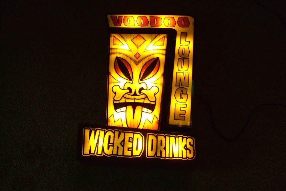 Voodoo lounge tiki bar light party light beer sign decorative voodoo lounge tiki bar light party light beer sign decorative lighting lounge aloadofball Gallery