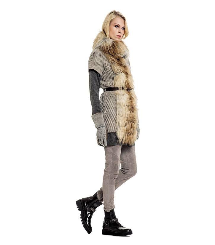 Fabiana Filippi Autumn / Winter 2014-15. Fur details #fabianafilippi #fashion #style #aw1415