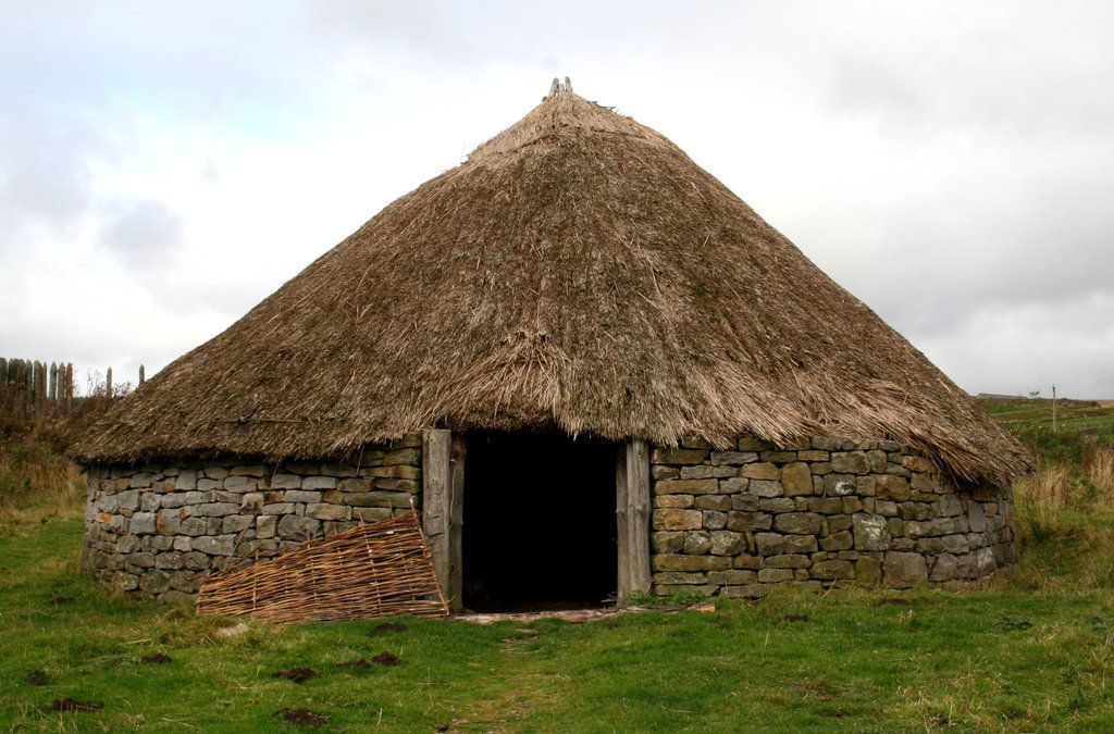 Stock Iron Age Roundhouse By Gothicbohemianstock On