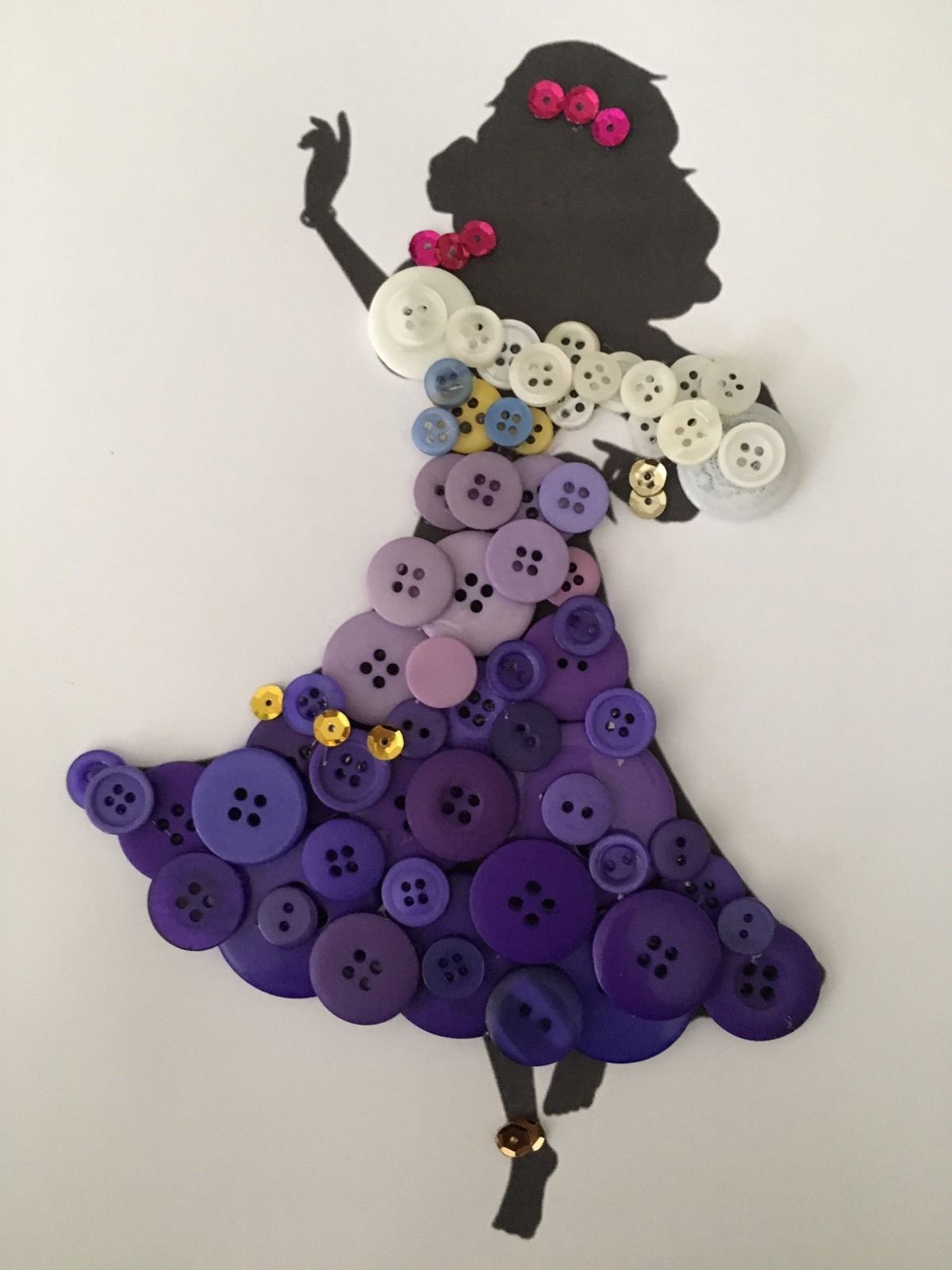 Pin de Jamey en Disney Button Art | Pinterest | Botones, Cuadro y ...