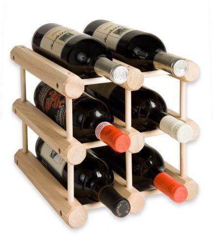 J K Adams Modular Hardwood Wine Rack 6 Bottle Made In Usa In 2020