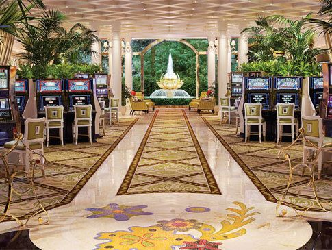 From the new open and airy high limit slots room at wynn for Wynn design and development las vegas
