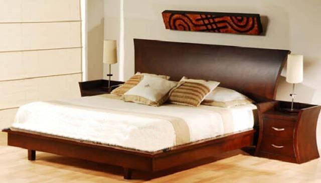 Camas de madera modelos modernos buscar con google for Modelos de camas matrimoniales modernas