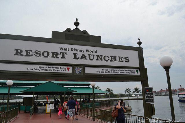 Transporte gratuito na Disney - Vai pra Disney?